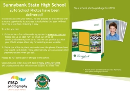School Photos Second Chance Offer
